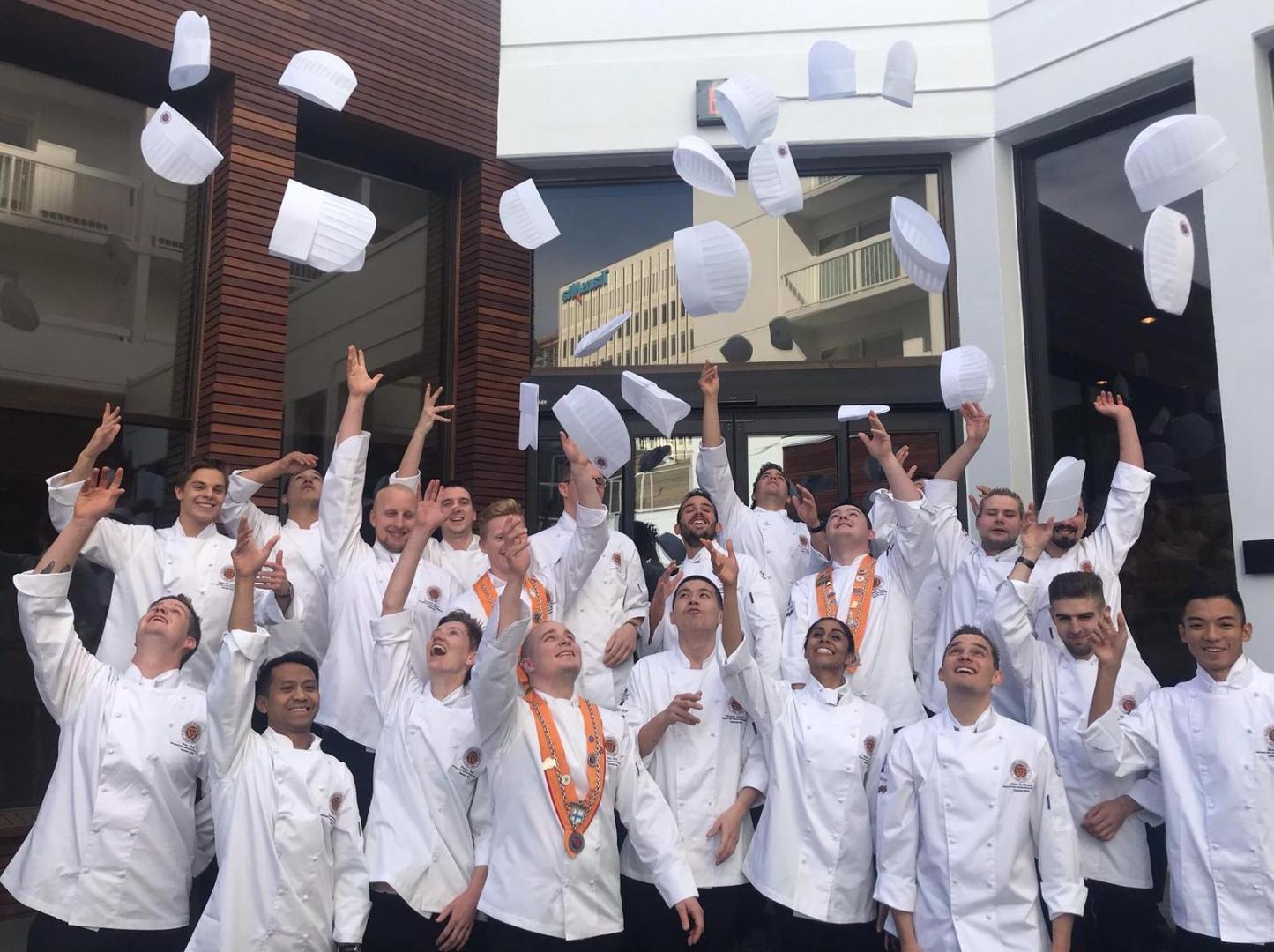 Jeunes Chefs Rotisseurs Competition 2022 bij Culinaire Academie in Beverwijk